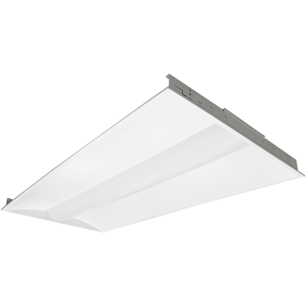 NUVO 65-430 50 Watt 3500K 2x4 Foot LED Troffer Fixture