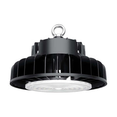 Nuvo 150w 5000k 277-480v LED High bay w/ DLC Premium in Black Finish