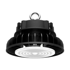 Nuvo 200w 5000k 277-480v LED High bay w/ DLC Premium in Black Finish