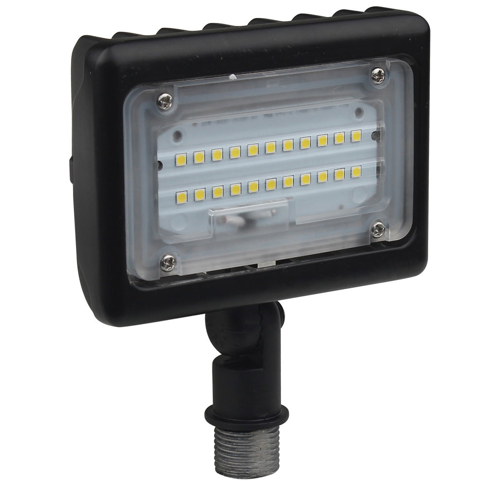 15W Bronze LED Small Flood Light 3000K with Adjustable Neck