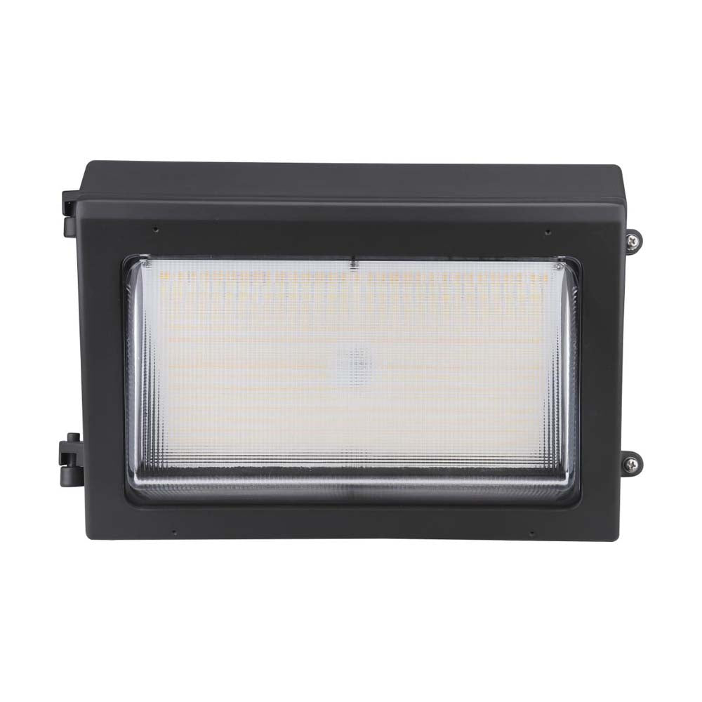 Nuvo LED Wall Pack Bypassable Photocell Wattage and CCT Selectable 120-347v
