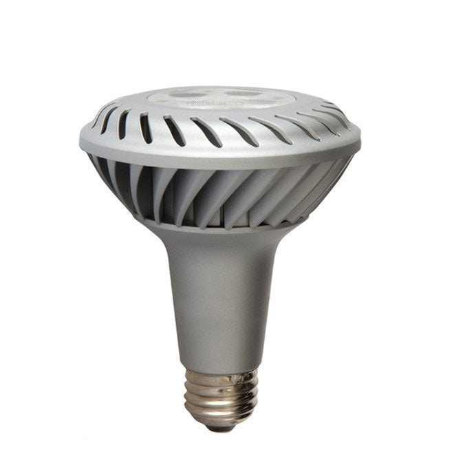 GE 65134 12w PAR30L LED Dimmable Flood FL35 2700K E26 740Lm 120V Warm White Bulb