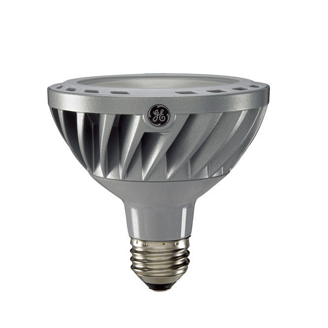 GE 12w PAR30 Dimmable Narrow Flood LED 2700K Warm White Energy Smart Light Bulb