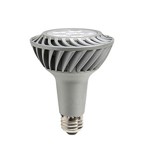 GE 12w PAR30 LED Dimmable Narrow Flood Energy Smart Soft White 3000K Light Bulb