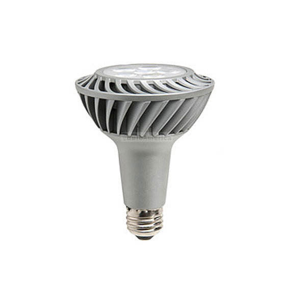 GE 12w 120v 2700k PAR30 Silver Dimmable FL35 LED Light Bulb