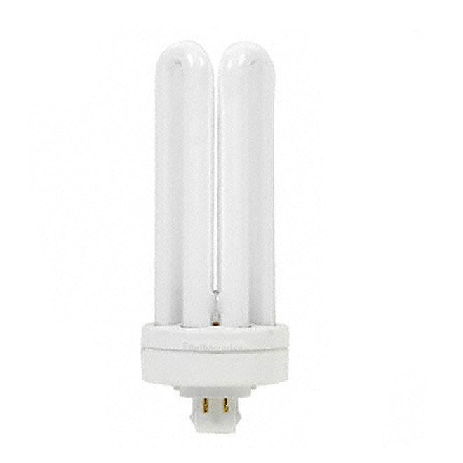 GE 42w Triple Tube 4-Pin GX24q-4 5000k Plug-In Fluorescent Light Bulb
