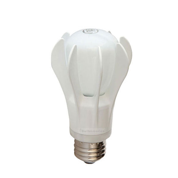 GE 9w 120v A-Shape A19 White Dimmable 3000k Energy Smart LED Light Bulb