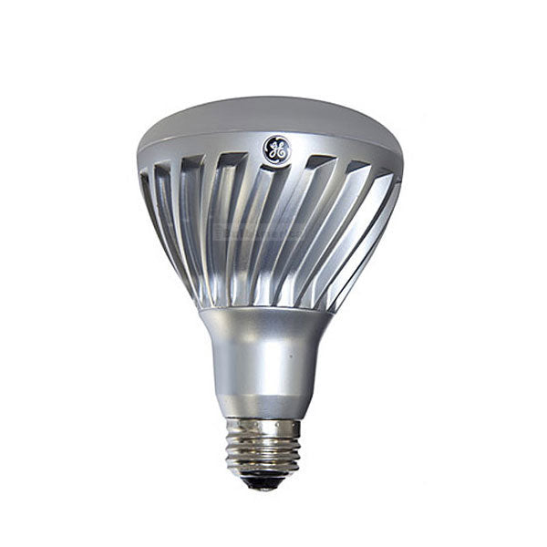 GE 12w 120v BR30 Silver Frosted Dimmable 2700k Energy Smart LED Light Bulb