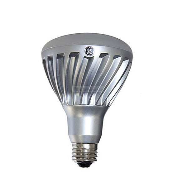 GE 12w 120v BR30 Silver Frosted Dimmable 3000k Energy Smart LED Light Bulb