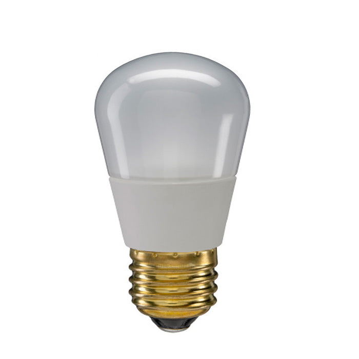 GE 2.4w S14 Frosted LED Bulb Soft White 100Lm lamp