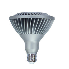 GE 20w 120v PAR38 Silver Dimmable FL40 2700k Energy Smart LED Light Bulb