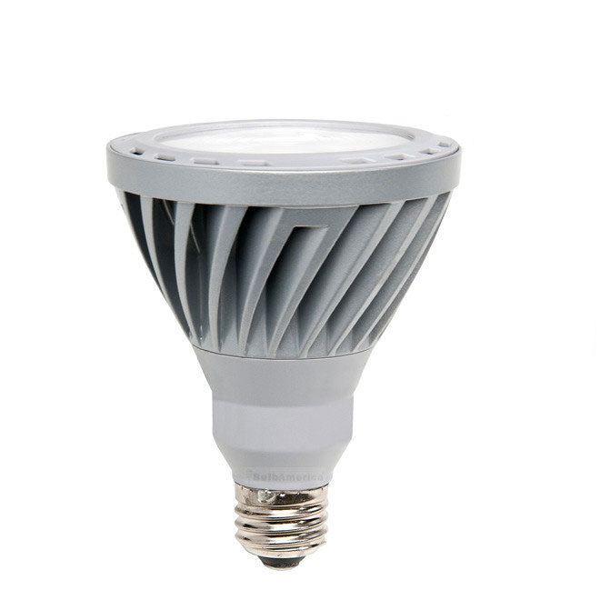 GE 12w PAR30L LED Bulb Dimmable Narrow Flood 630Lm Warm White lamp