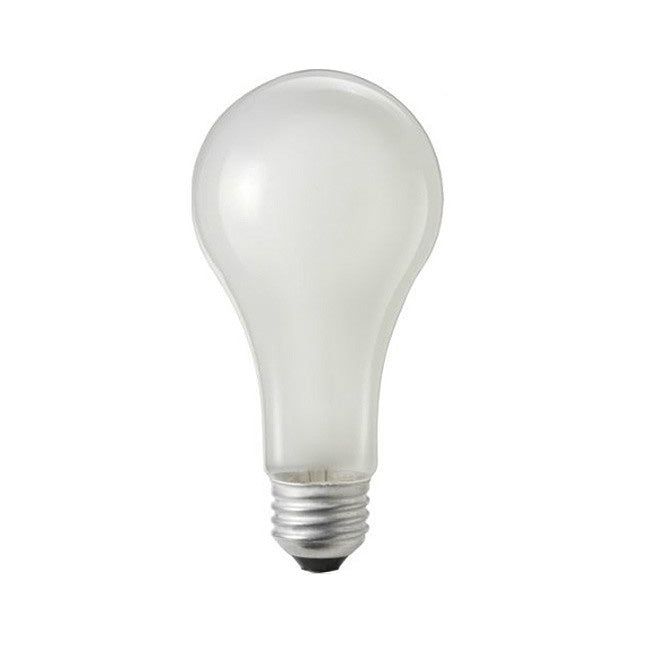 GE 150W 120V A21 Frost Soft White Incandescent Light Bulb