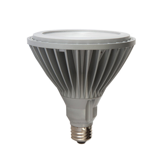 Ge 18w Par38 Led 3000k Narrow Flood Energy Star Silver