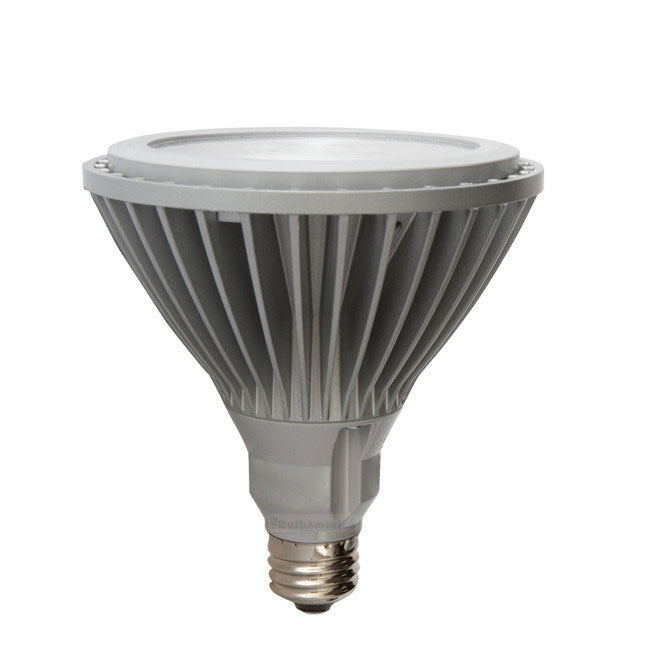 GE 18w 120v PAR38 NFL25 2700K Silver Energy Smart LED Light Bulb