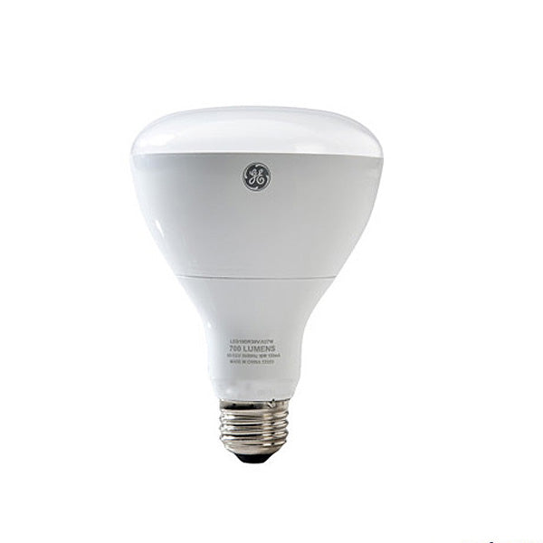GE 10w BR30 LED Bulb Dimmable 700Lm Warm White lamp