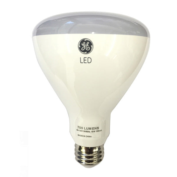 GE 10w 120v BR30 2700k Frosted White E26 LED Light Bulb