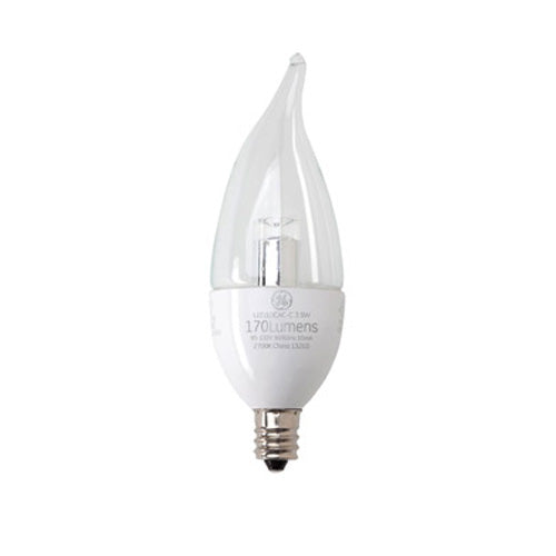 Lights Of America Led Wall Pack: GE 3.5W LED Chandelier Replacement Decorative Bulb Bent