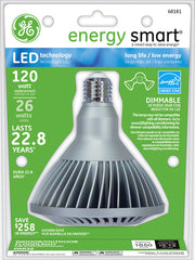 GE 26w LED PAR38 Dimmable Cool White 4000k Energy Smart bulb - 120w equiv.
