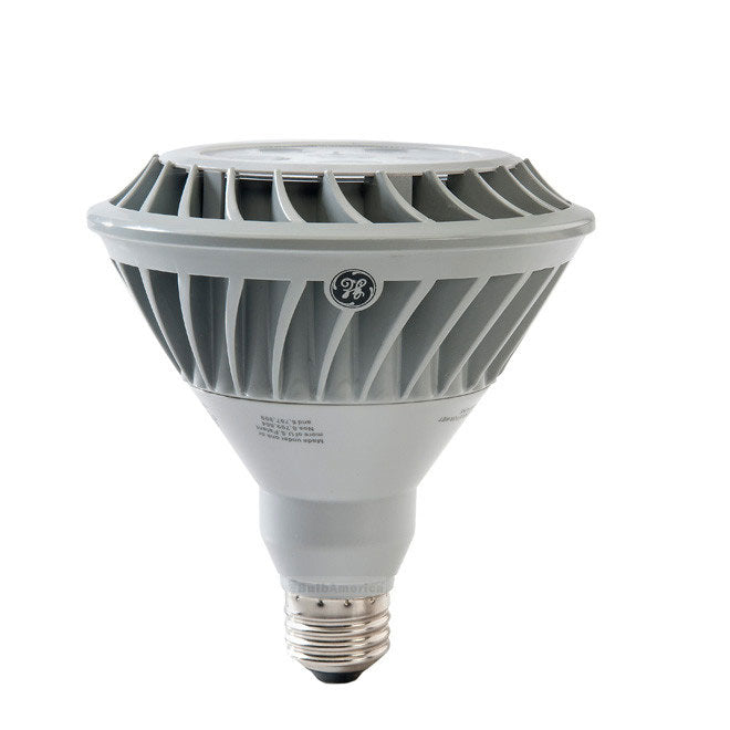 GE 20w 120v PAR38 4000K FL40 Silver Energy Smart LED Light Bulb