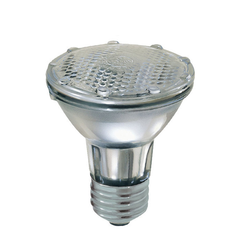GE 38w PAR20 Spot Halogen 1500Hr Sodalime Glass Relaxing Light bulb