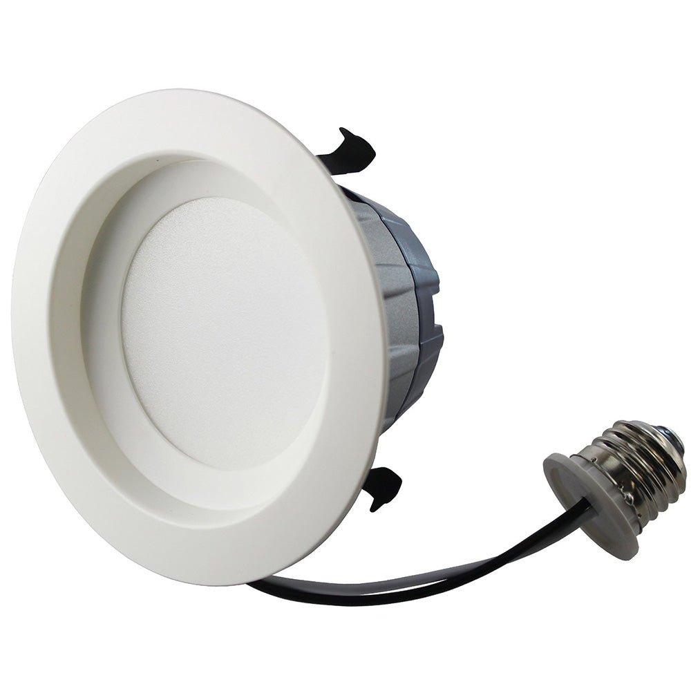 Sylvania 9W 600 Lumen Warm White 4 in. Recessed Downlight Kit - 50w equiv.