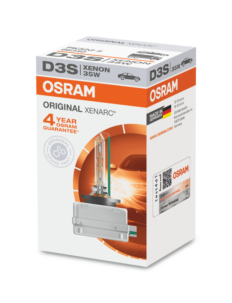 Osram D3S - 66340 -  Original Xenarc 35W HID Automotive Bulb