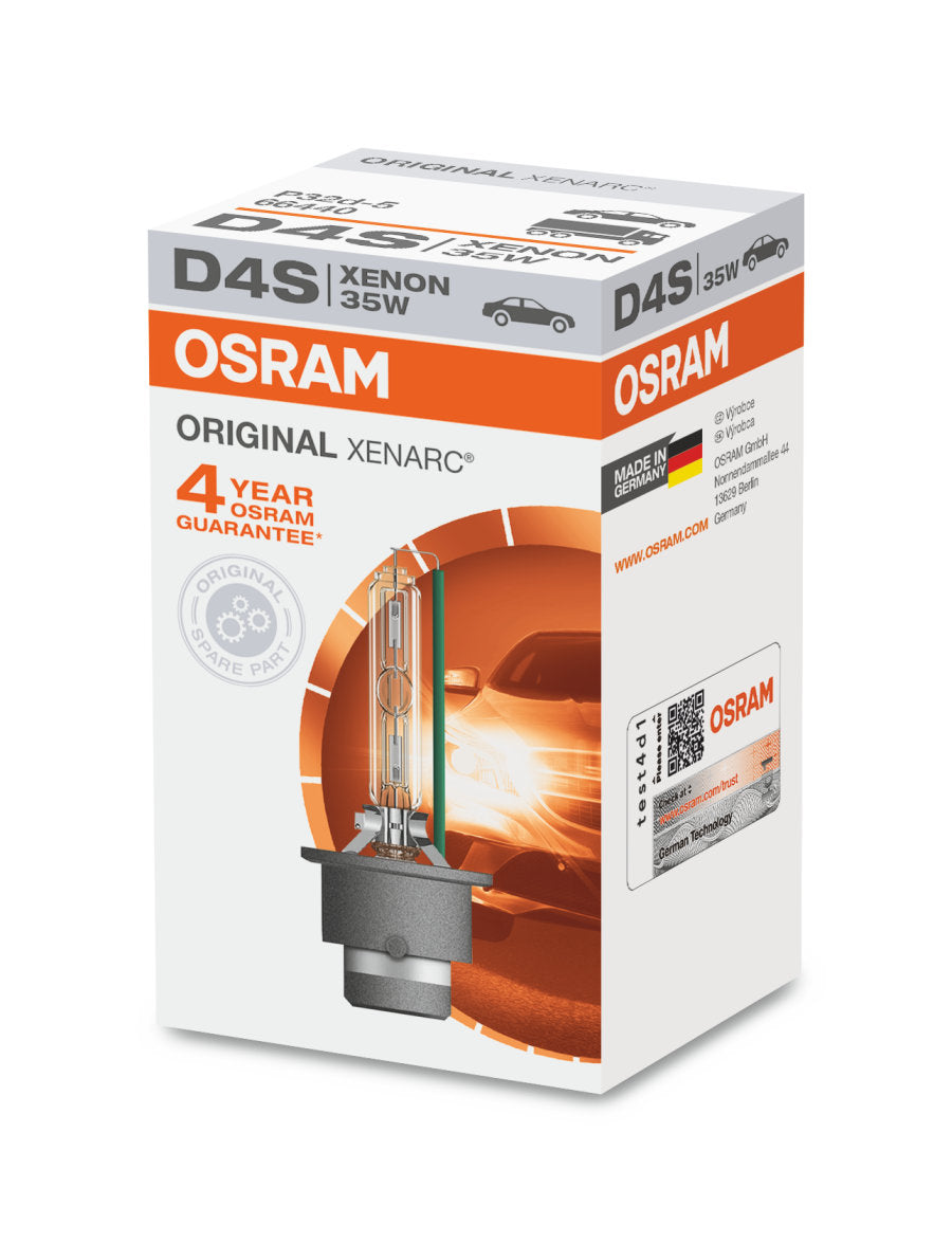 Osram D4S - 66440 - Original Xenarc 35W HID Automotive Bulb