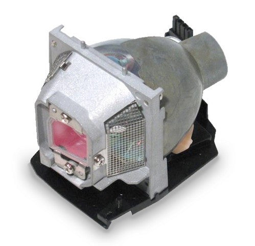 Dell 7W850 Projector Housing with Genuine Original OEM Bulb
