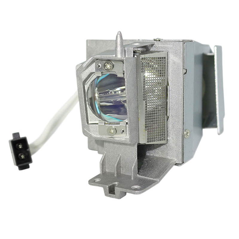 Dell 1450 Projector Housing with Genuine Original OEM Bulb