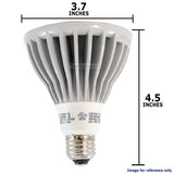 OSRAM SYLVANIA 13W PAR30L Long Neck Dimmable LED Flood 40 degree 5000K light bulb - BulbAmerica