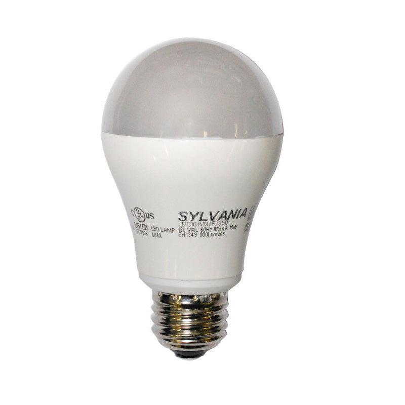 Osram Sylvania 10W A19 LED Full Spectrum 5000K Light Bulb - 60w replacement