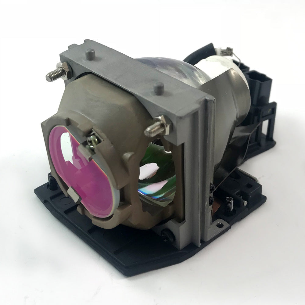 Dell W3221 Projector Housing with Genuine Original OEM Bulb
