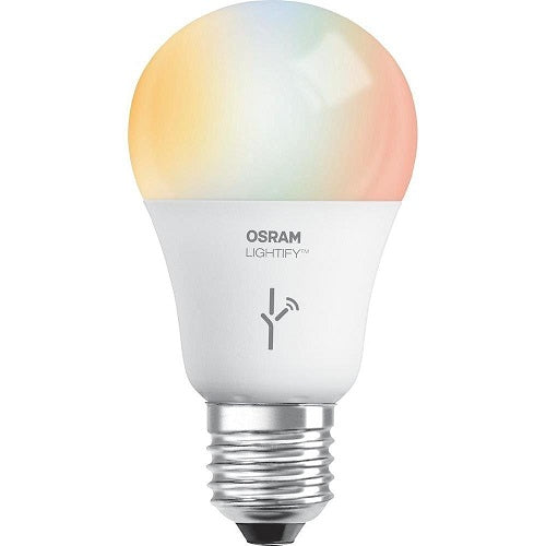 Sylvania Lightify Smart LED A19 RGBW 10W 120V E26 Light Bulb - 60w equiv.