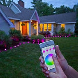Sylvania Lightify LED GardenSpot Mini RGB Landscape Light Kit Smart Home_3