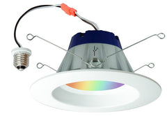 Sylvania Lightify 13.5w LED Recessed RGBW 5-6 in. Downlight Kit - 65w equiv.
