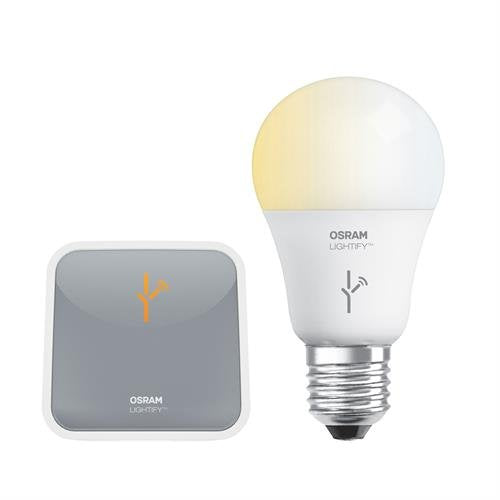 Sylvania Lightify Smart LED Starter Kit A19 Light Bulb with Wireless Gateway