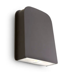 Sylvania 60W LED Slim Wall Pack Bronze 4000K Photocontrol - 175w equivalent
