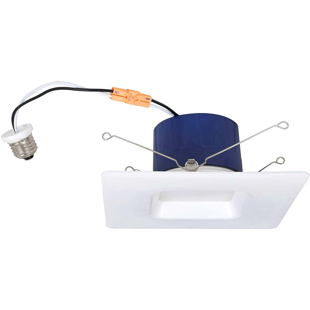 Sylvania 5-6 in 13w 4000K Square LED Downlight Recessed - Dimmable - 75w equiv
