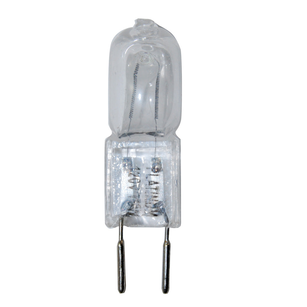BulbAmerica 75W 120V GY6.35 Bi-Pin Base Clear Halogen Bulb