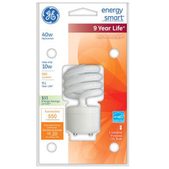GE 10W CFL GU24 Plug-In base Soft White Compact Fluorescent bulb