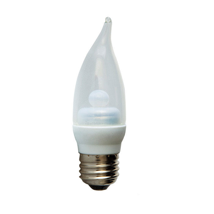 Ge 2w 120v Flame E12 2900k Candelabra LED Light Bulb