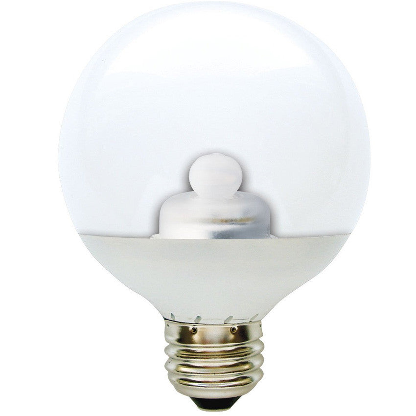 Ge 2.8w 120v Globe G25 Clear 2900k LED Light Bulb