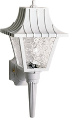 "1 Light - 18"" - Wall Lantern - Mansard Lantern w/Textured Acrylic Panels"