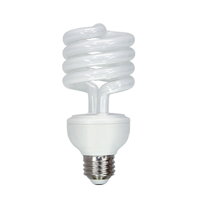 GE 13/19/26W 3 Way CFL Spiral Soft White Compact Fluorescent bulb