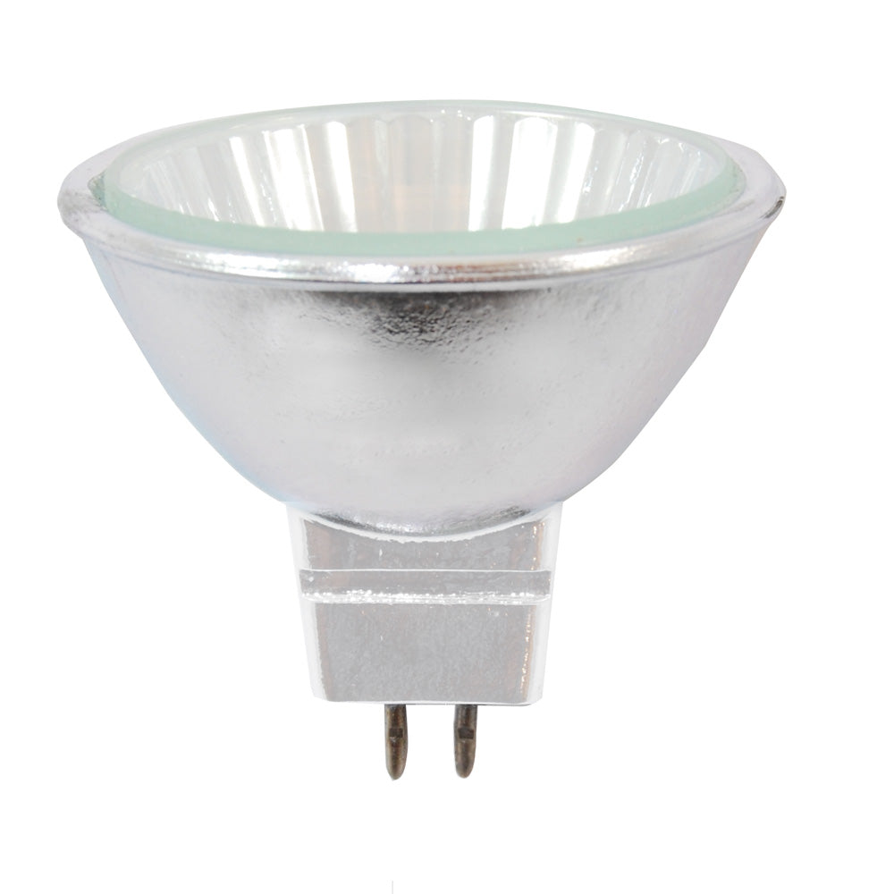 GE 20w 12v MR16 GU5.3 Flood With Front Glass FL36 Halogen Light Bulb