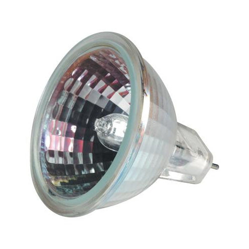 GE 35w 12v MR16 GU5.3 SP10 Spot With Front Glass 2950K Halogen Bulb