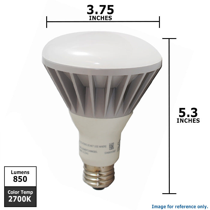Br30 Dimmable Led 12w Warm White 2700k Sylvania Light Bulb