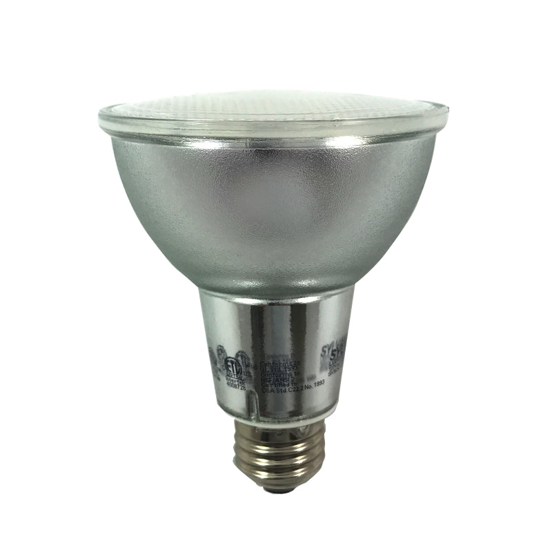 Sylvania 13W PAR30LN LED Dimmable Waterproof Flood 3000K Light Bulb