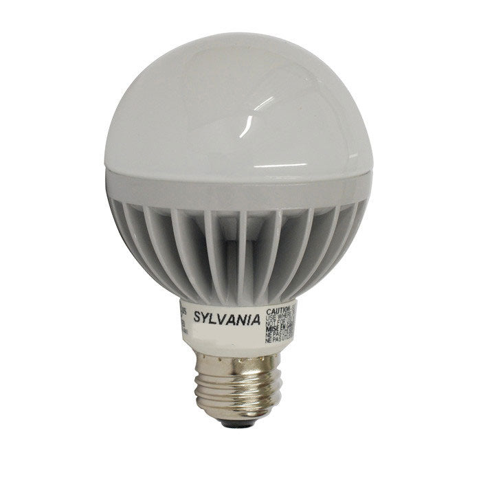 OSRAM SYLVANIA 7w Dimmble LED Globe lamp - E26 base G25 3000K Bulb
